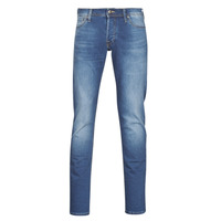 Textiel Heren Skinny jeans Jack & Jones JJIGLENN Blauw / Medium