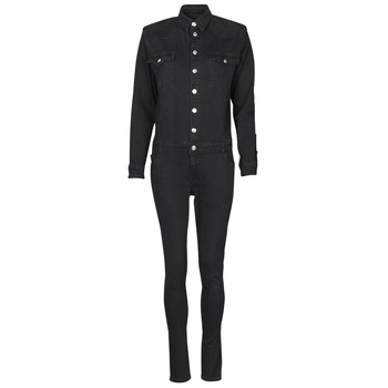 Textiel Dames Jumpsuites / Tuinbroeken Betty London OPANTS Zwart