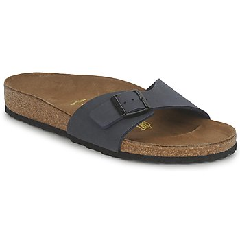 Schoenen Heren Leren slippers Birkenstock MADRID Marine