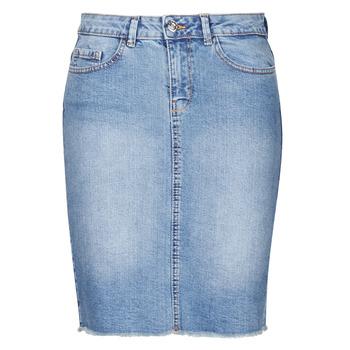 Textiel Dames Rokken Only ONLELIZA Blauw
