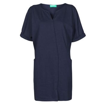 Textiel Dames Korte jurken Benetton CAMILA Marine