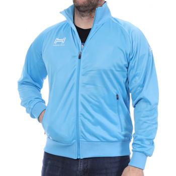 Textiel Heren Trainings jassen Hungaria  Blauw