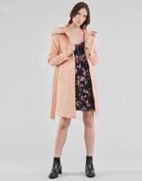 Textiel Dames Mantel jassen Vero Moda VMCALALYON HOOD 3/4 JACKET GA Roze
