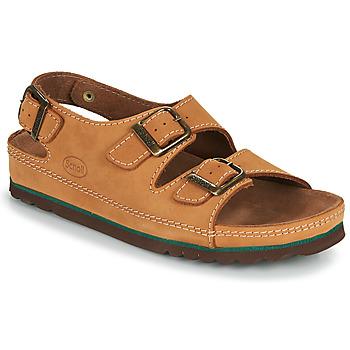 Schoenen Heren Sandalen / Open schoenen Scholl AIRBAG BACK STRAP Brown