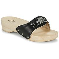 Schoenen Dames Leren slippers Scholl PESCURA HEEL Zwart