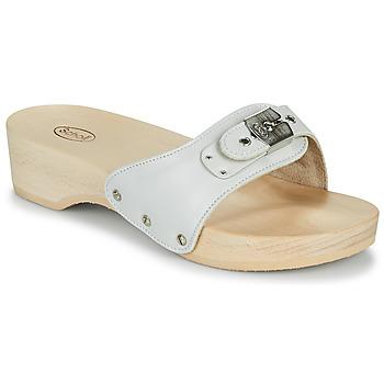 Schoenen Dames Leren slippers Scholl PESCURA HEEL Wit