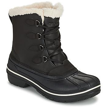 Schoenen Dames Laarzen Crocs ALL CAST II BOOT W Zwart