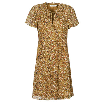 Textiel Dames Korte jurken Naf Naf MARIA R1  camel