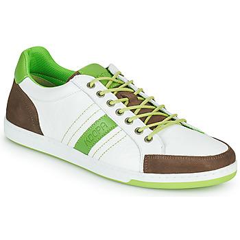 Schoenen Heren Lage sneakers Kdopa MARIANO Wit / Groen