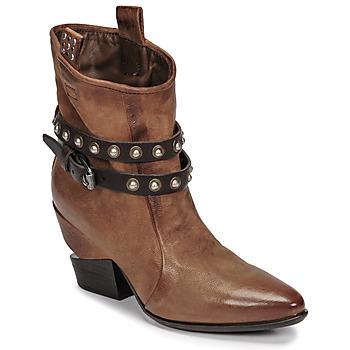 Schoenen Dames Laarzen Airstep / A.S.98 TINGET Brown