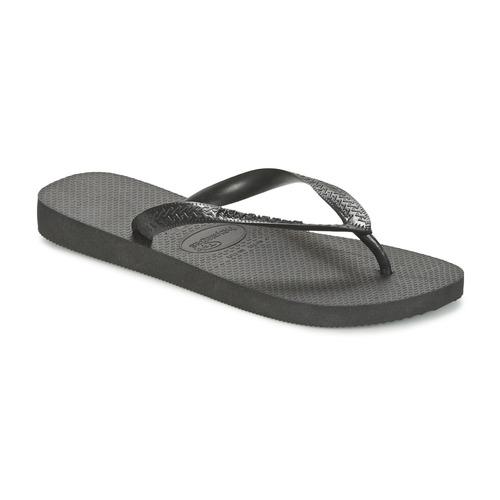 Schoenen Slippers Havaianas TOP Zwart