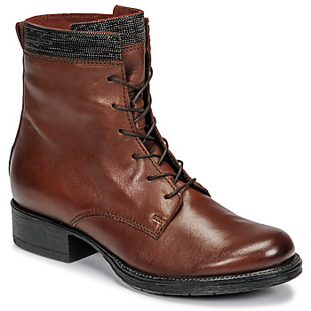 Schoenen Dames Laarzen Mjus NORTON Brown