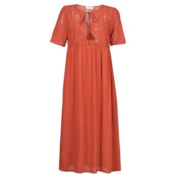 Textiel Dames Lange jurken Betty London ORVILLE Rouille