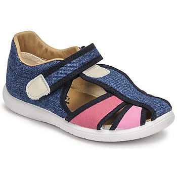 Schoenen Meisjes Sandalen / Open schoenen Citrouille et Compagnie GUNCAL Blauw / Jeans