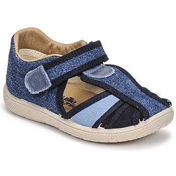 Schoenen Kinderen Sandalen / Open schoenen Citrouille et Compagnie GUNCAL Blauw / Jeans