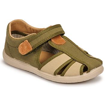 Schoenen Jongens Sandalen / Open schoenen Citrouille et Compagnie GUNCAL Kaki