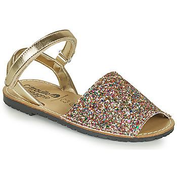 Schoenen Meisjes Sandalen / Open schoenen Citrouille et Compagnie SQUOUBEL Multikleuren