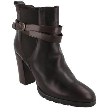 Schoenen Dames Enkellaarzen Belset  Marrón