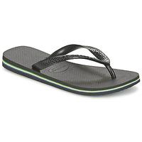 Schoenen Slippers Havaianas BRASIL Zwart