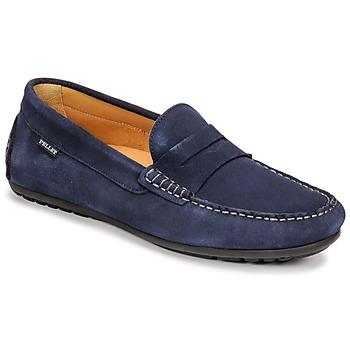 Schoenen Heren Mocassins Pellet Cador Blauw