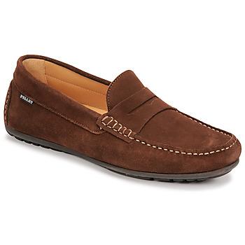 Schoenen Heren Mocassins Pellet Cador Brown