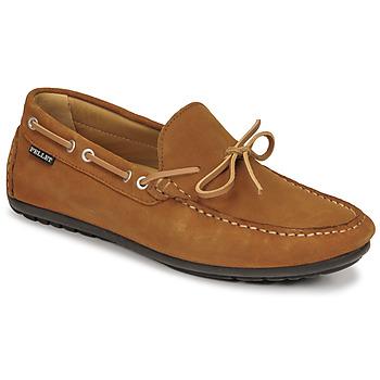 Schoenen Heren Mocassins Pellet Nere Brown
