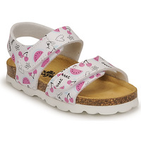 Schoenen Meisjes Sandalen / Open schoenen Citrouille et Compagnie BELLI JOE Imprimé / Fruit