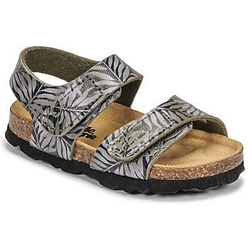 Schoenen Kinderen Sandalen / Open schoenen Citrouille et Compagnie BELLI JOE Imprimé / Feuille