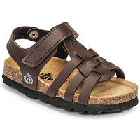 Schoenen Jongens Sandalen / Open schoenen Citrouille et Compagnie JANISOL Brown / Donker