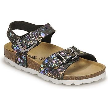 Schoenen Meisjes Sandalen / Open schoenen Citrouille et Compagnie RELUNE Zwart