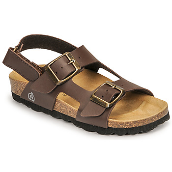 Schoenen Jongens Sandalen / Open schoenen Citrouille et Compagnie KELATU Brun-gaucho