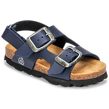 Schoenen Jongens Sandalen / Open schoenen Citrouille et Compagnie KELATU Marine / Donker