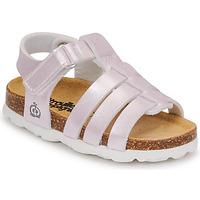 Schoenen Meisjes Sandalen / Open schoenen Citrouille et Compagnie MALIA Champagne