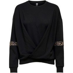 Textiel Dames Sweaters / Sweatshirts Only Play SUDADERA MUJER  15219237 Zwart
