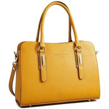 Tassen Dames Handtassen kort hengsel Christian Laurier LYS jaune