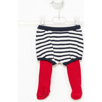 Textiel Meisjes Broeken / Pantalons Tutto Piccolo Bloomer Multicolour