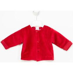 Textiel Meisjes Vesten / Cardigans Tutto Piccolo Veste  M / Long Rood