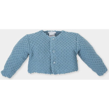 Textiel Kinderen Vesten / Cardigans Tutto Piccolo Veste  M / Long Blauw