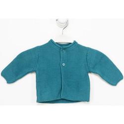 Textiel Meisjes Vesten / Cardigans Tutto Piccolo Veste  M / Long Groen