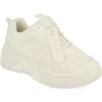 Schoenen Dames Lage sneakers Buonarotti 1AP-1026 Blanco