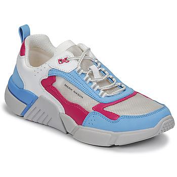 Schoenen Dames Lage sneakers Skechers BLOCK/WEST Wit / Blauw / Roze