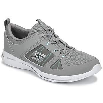 Schoenen Dames Fitness Skechers CITY PRO - WITHOUT A CARE Grijs