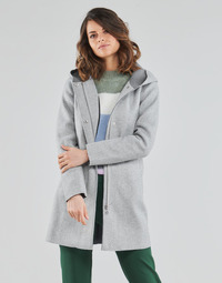 Textiel Dames Mantel jassen Only ONLSIRI Grijs