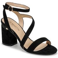 Schoenen Dames Sandalen / Open schoenen JB Martin KRYSTEN Zwart