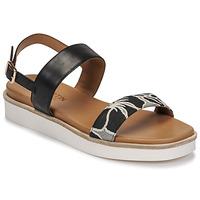 Schoenen Dames Sandalen / Open schoenen JB Martin BENGALI Zwart
