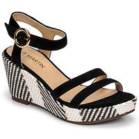 Schoenen Dames Sandalen / Open schoenen JB Martin DORKA Zwart