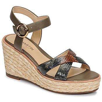 Schoenen Dames Sandalen / Open schoenen JB Martin EMEA Olijf