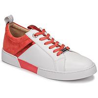 Schoenen Dames Lage sneakers JB Martin GELATO Wit / Corail