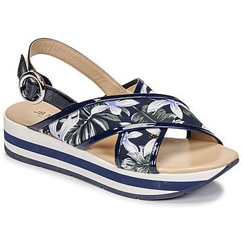 Schoenen Dames Sandalen / Open schoenen JB Martin ILANG Marine