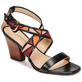 Schoenen Dames Sandalen / Open schoenen JB Martin NALIA Zwart